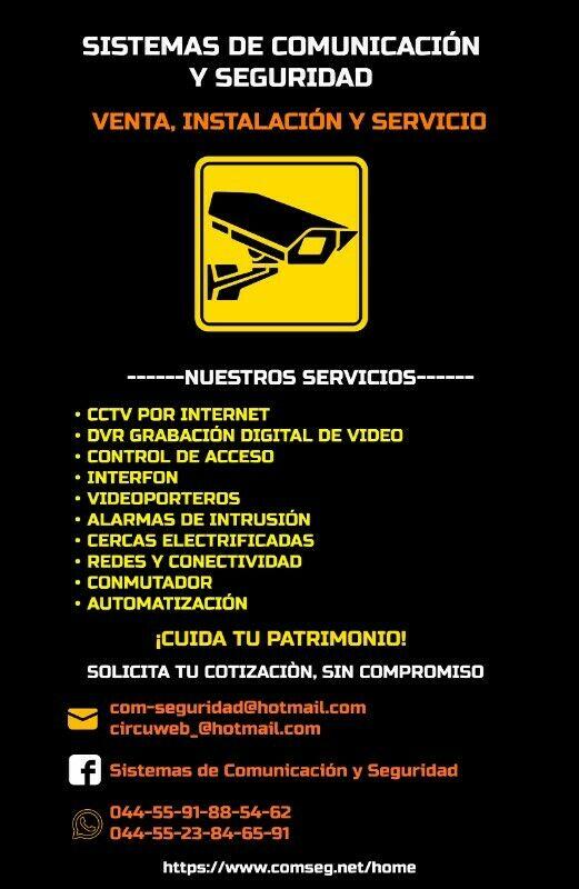 SISTEMAS DE COMUNICACIÓN Y SEGURIDAD