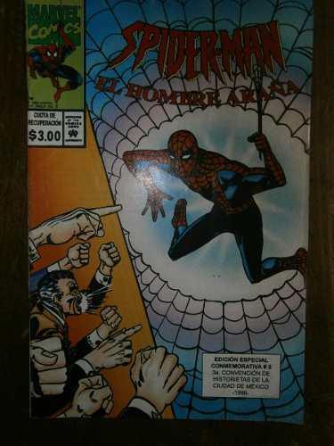 Spiderman Hombre Araña # 0 Edicion Conmemorativa Mexico