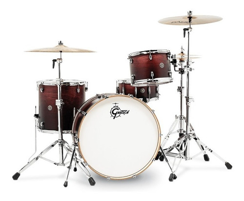 Bateria Gretsch S/stands Catalina Club Rock Ct1r444