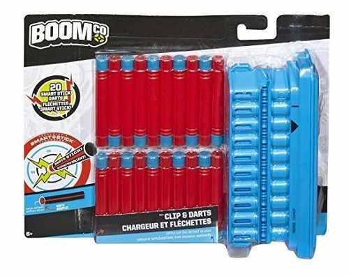 Boomco. Clip Y 20dart Pack (suspendido Por Fabricante