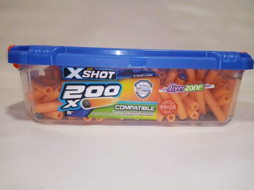 Dardos Compatibles Zuru X Shot Caja Con 200 Piezas