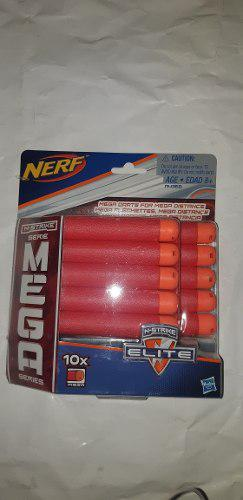 Dardos Nerf Mega Series N Strike 10 Pzas