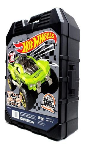 Estuche Para 48 Hot Wheels Car Case Coleccionador Hotwheels