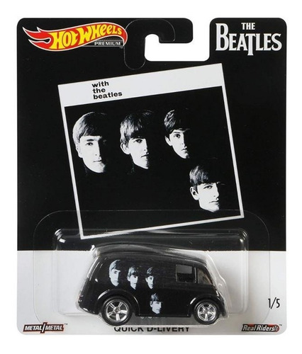 Hot Wheels 1:64 The Beatles Quick D-livery