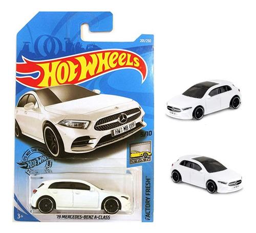 Hot Wheels 19 Mercedes Benz Clase A Factory Fresh