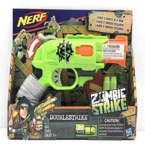 Lanzador Nerf Zombie Doublestrike