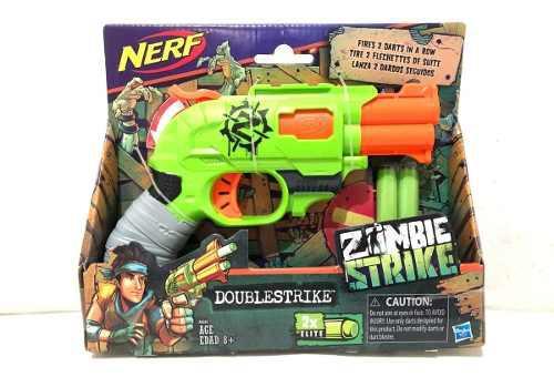 Lanzador Nerf Zombie Strike Doublestrike Nueva