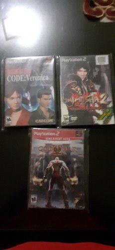 Lote De Juegos De Play Station 2 Originales