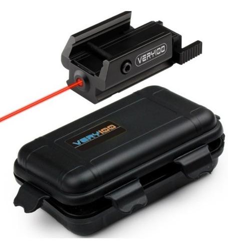 Mira Tactica Laser Militar Tactico Montura 20mm Envio Gratis
