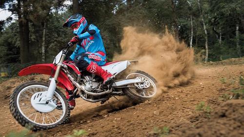 Moto De Colección Honda Crf450r Escala 1:12 Maisto