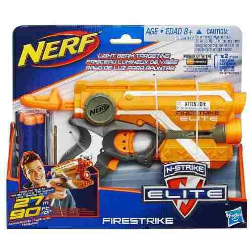 Nerf 53378 Lanzador Nerf N Strike Firestrike Juguete Hasbro