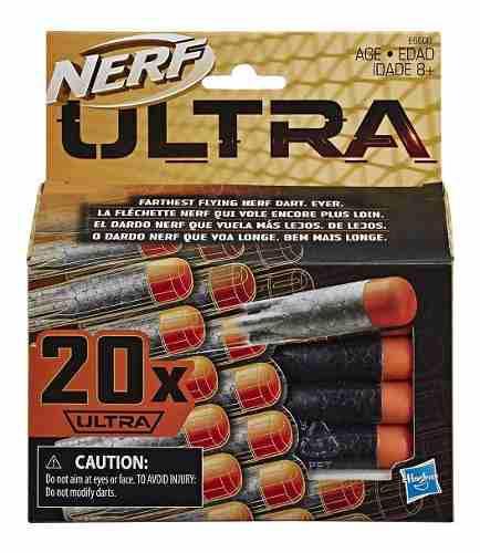 Nerf Dardos Refill Ultra 20 Pzs