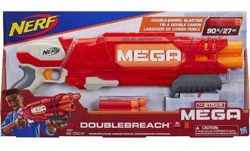 Nerf Doublebreach Mega Nstrike Lanza Dardos
