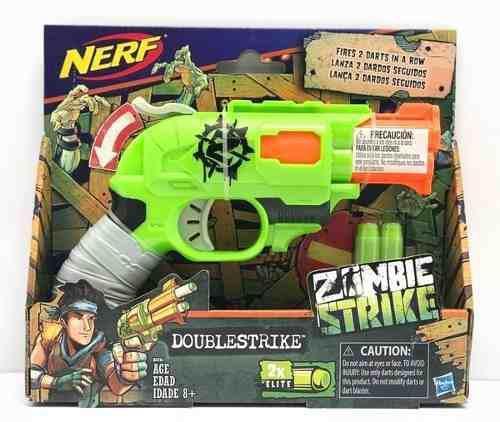Nerf Doublestrike Zombie Strike Lanza Dardos