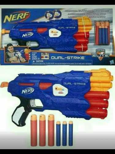 Nerf Dual Strike Lanza Dardos Mega Y N-strike Envio Gratis