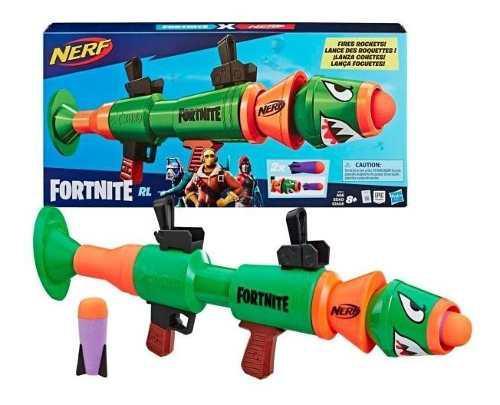 Nerf Fortnite Rl Lanza Cohetes 2 Dardos Hasbro Original