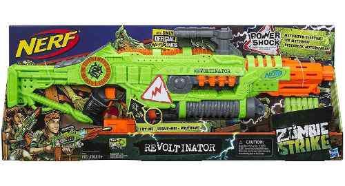 Nerf Lanzador De Juguete Revoltinator Zombie Strike Con Luce