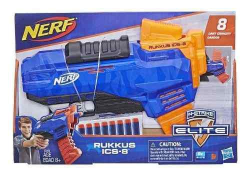 Nerf Lanzador Rukkus Ics-8 N-strike Elite Dardos Hasbro Game