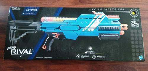 Nerf Rival Hypnos Xlx - 1200 Equipo Azul