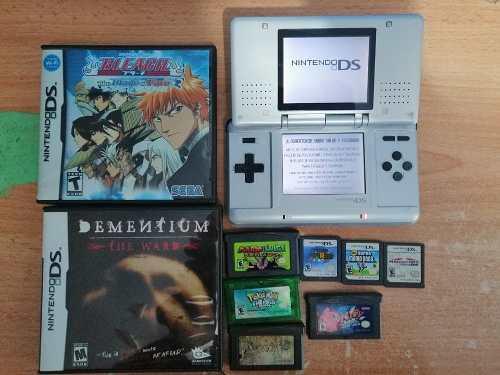 Nintendo Ds Con 9 Juegos (dementium)
