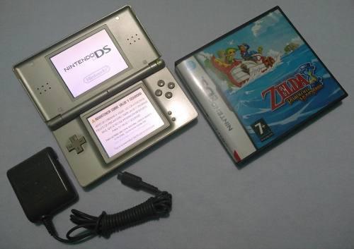 Nintendo Ds Lite Edicion Zelda Detalle