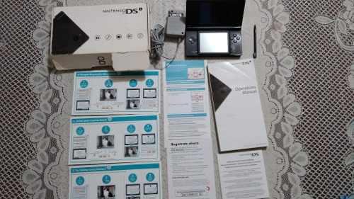 Nintendo Dsi Color Negro Con Caja Y Manuales