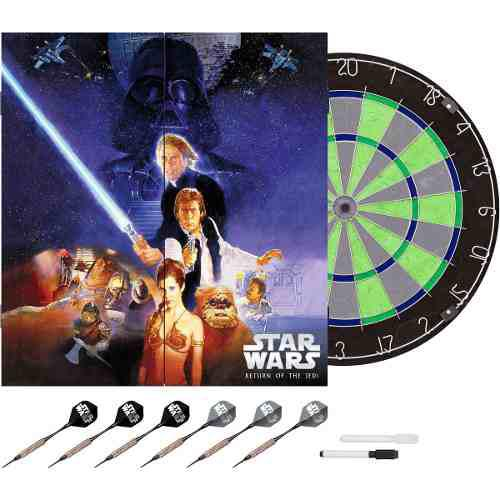 Star Wars Tablero De Dardos Return Of Jedi Limited Edition