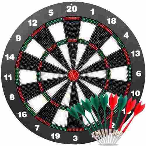 Ylovetoys Dart Board - Juego De Dardos Para Niños (40,6