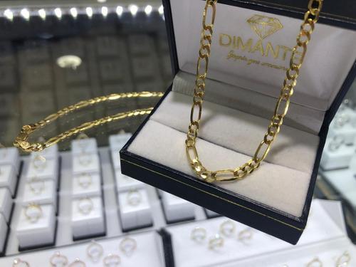 Cadena Oro 10k Estilo 3x1 Solida 100%oro 11.8 Gramos 60cm