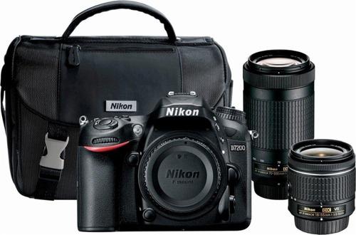 Camara Digital- Nikon D Dslr Lentes  Mm Y mm