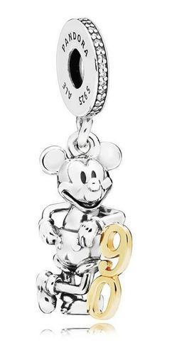 Charm Pandora Dije Colgante Disney 90 Aniversario De Mickey