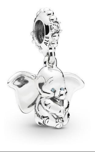 Charm Pandora Dumbo Bebe Colgante 100% Plata S 925 Ale