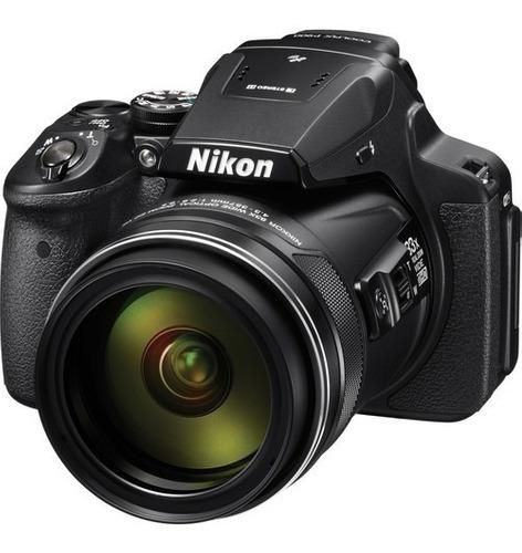 Cámara Nikon Compacta Coolpix P900 Negra 16mp Con Wifi