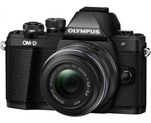 Cámara Olympus E-m10 Mark Ii C/mm Ii R Negro
