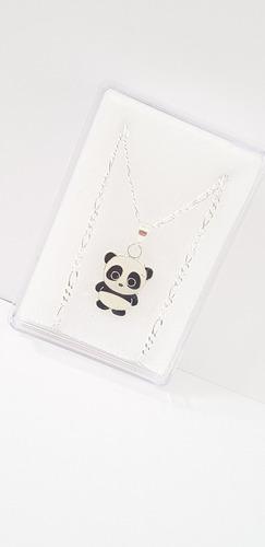 Dije De Oso Panda De Plata 925 De 1.5 Cm Cd16+envio Gratis