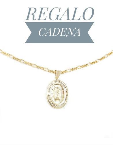 Hermosa Medalla Virgen De Guadalupe Primera Comunión Oro
