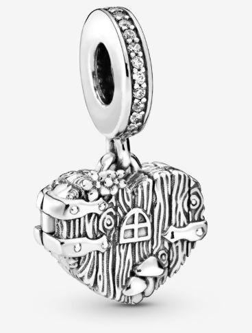 Pandora Charm Hogar Dulce Corazón