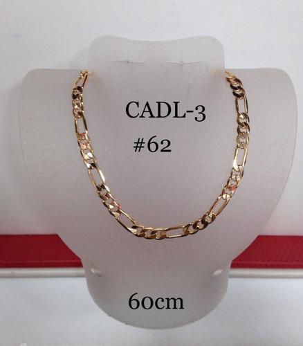 Preciosa Cadena De Oro Laminado De 18k