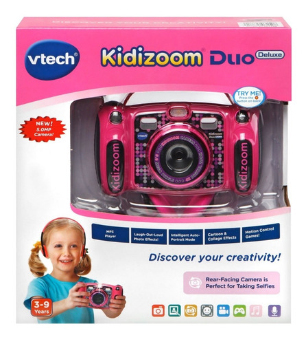 Vtech Kidizoom Duo, Cámara Digital Infantil, 5.0 Mp. Con