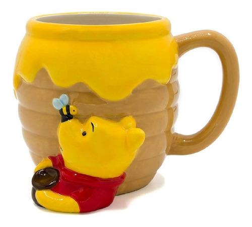 Winnie The Pooh Taza De Cerámica Silver Buffalo 23-oz