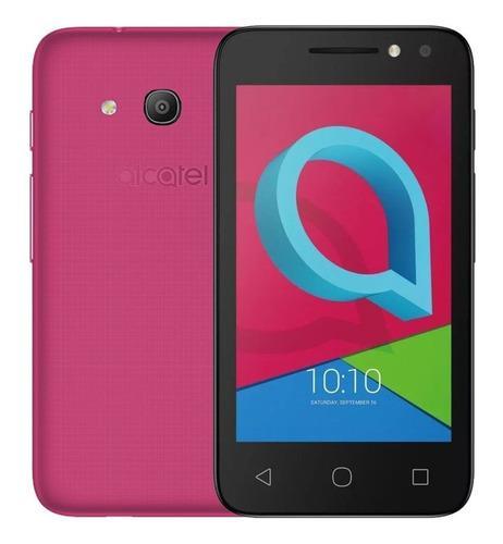 Celular Alcatel 2x1. 1e 4 4034t 8gb - Color Negro Y Rosa