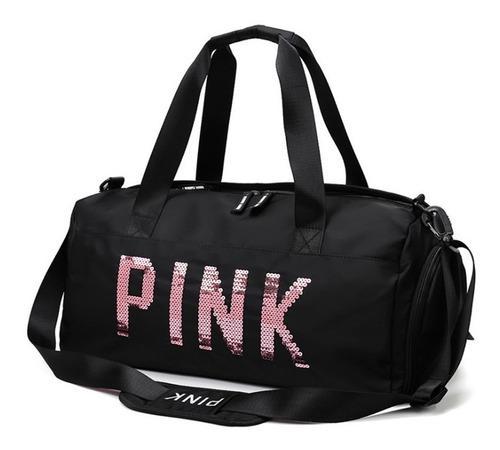 Maleta Fitness Pink Gym, Viaje, School. 100% Deportiva