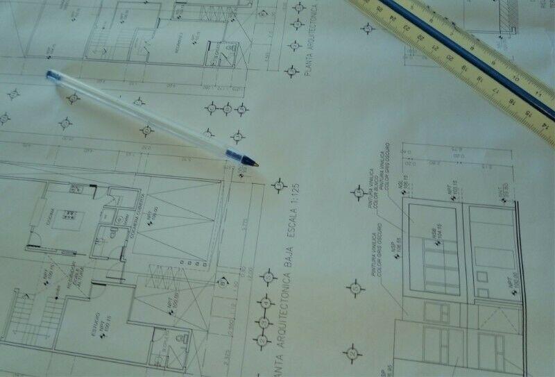 Planos oficiales para permiso de construcción