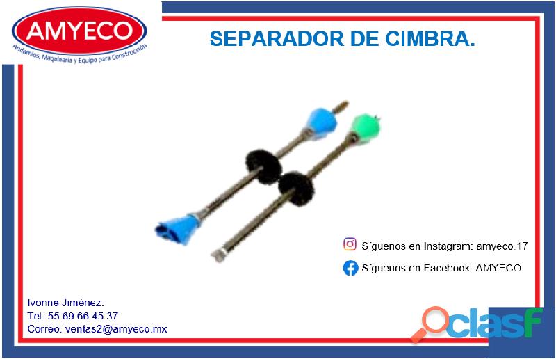SEPARADORES PARA CIMBRA DE 90 CM