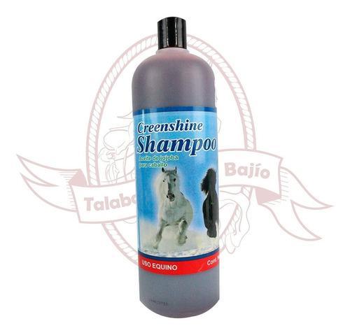 Shampoo Rojo Para Caballo De Jojoba 1 Litro