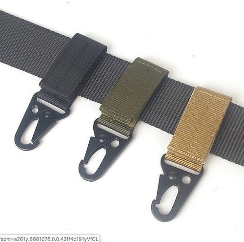 Arnes Hebilla Para Cinturon Mosqueton Tactico Militar