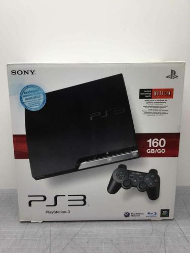Sony Playstation Ps3 Con Caja, Accesorios Y Juego