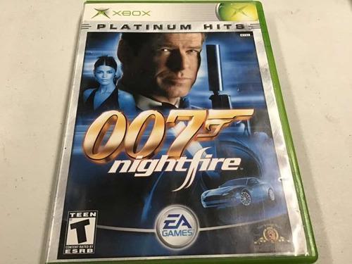 007 Night Fire Platinum Hits Xbox Clasico