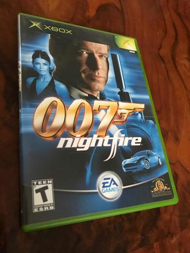 007 Nightfire Xbox Clasico