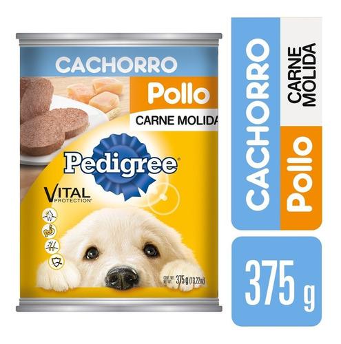 Alimento Para Perro Pedigree Pollo Cachorro 375 Gr